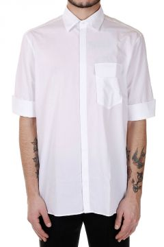 Popeline cotton short Sleeves Shirt
