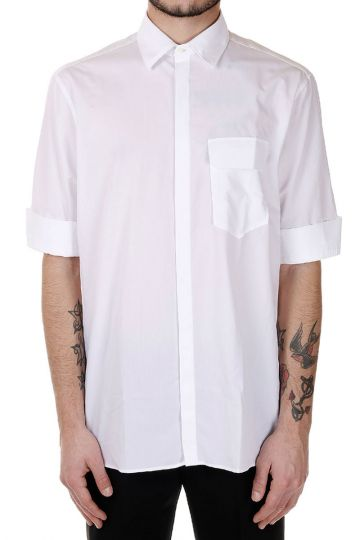 Popeline cotton short Sleeves Shirt