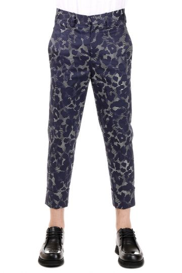 Pantalone Camouflage in cotone stretch