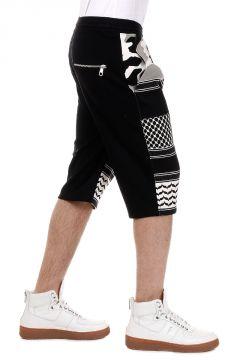 Pantalone Bermuda in Misto Cotone
