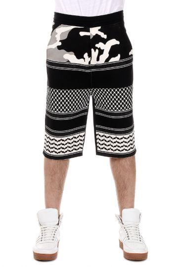 Cotton blend Bermuda Pants