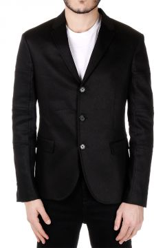 Single Breasted Cotton Blend SLIM FIT Blazer