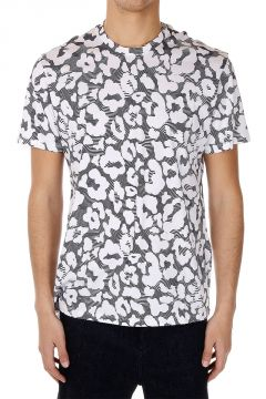 Abstract Printed Jersey Cotton T-shirt