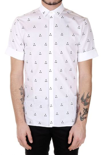 Popeline cotton Printed Shirt