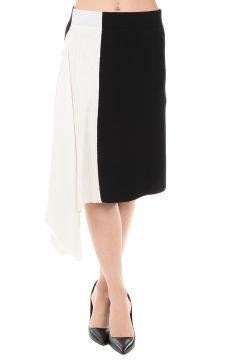 Bi color Asymmetrical Skirt