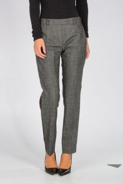 Stretch Virgin Wool Blend Pants