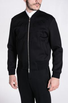 Felpa STRAIGHT BOMBER FIT in Neoprene