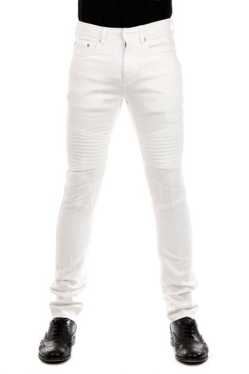 Pantalone SKINNY FIT REGULAR RISE in Cotone