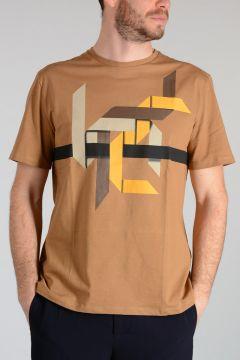 T-shirt ORIGAMI a Girocollo