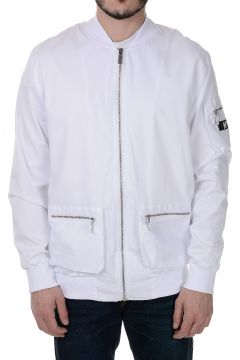 Bomber Jacket with Logo