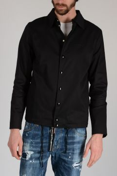 Stretch Cotton Embroidered Jacket