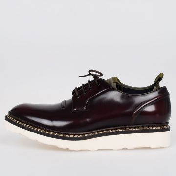 Leather COMPRESSION BLUCHER Derby Shoes
