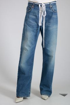 21cm Vintage Wash Denim Jeans
