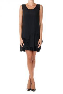 Sleeveless Tiered Skirt Dress