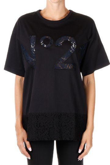 Laced Details T-shirt