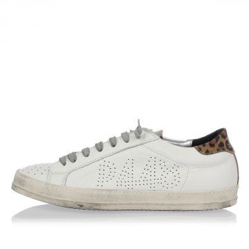 Sneakers A5 JOHN in Pelle Traforata