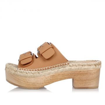Cord Leather FRANCISCA Sandals