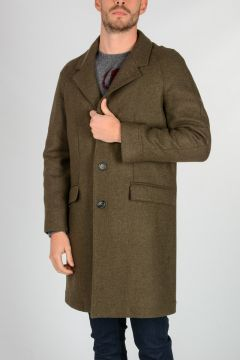 Cappotto LUCA in Misto Lana