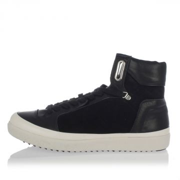Leather HEX HOOP High Sneakers