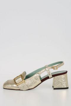 Scarpa in Pelle con Tacco 6cm
