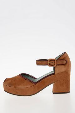 9cm leather Sandals