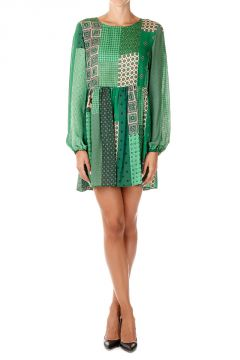 Silk Blouson SULLIVAN Dress