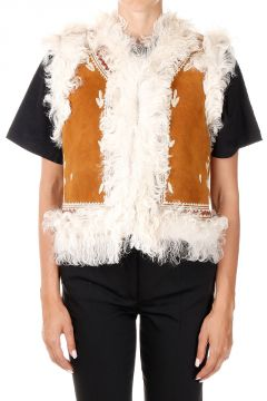 Leather MARCELLE Waistcoat