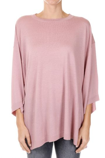 Round Neck Cashmere wool LUSHY Sweater