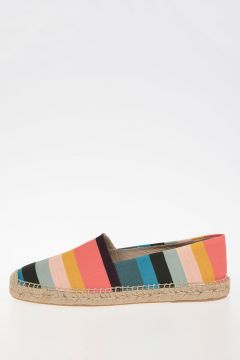Striped Fabric SUNNY Espadrille