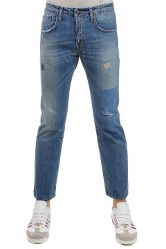"Jeans ""JOHN"" stampa stelle 19 cm"