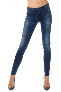 Jeans NAOMI in Denim stretch 11 cm