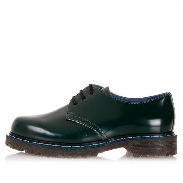 """British"" Polished Leather Low Derby"