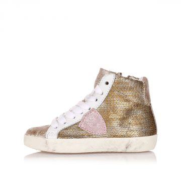 Sneakers bambina Alte CLASSIC con Paillettes