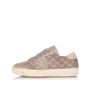 Sneakers Bambina CLASSIC in Pelle e Tessuto