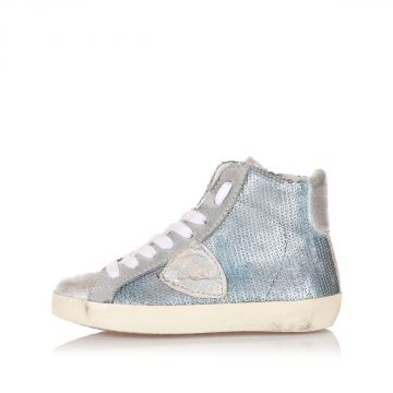 High CLASSIC Sneakers Kid with Sequins