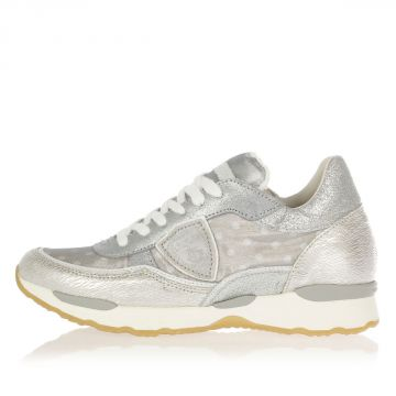 Sneakers CITY VENUS Bassa in Pelle e Tessuto