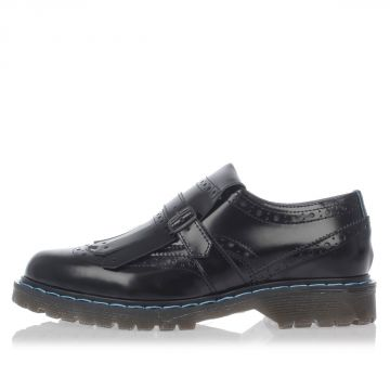 Leather BRITISH Loafer with Fringes