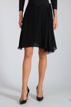 Silk Mesh Skirt