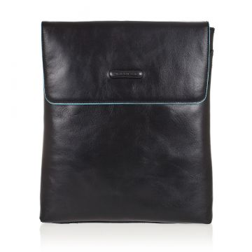 Leather BLUE SQUARE Shoulder Pocketbook