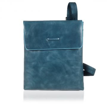 Leather BLUE SQUARE Shoulder iPad/iPad®Air Pocketbook