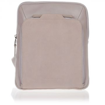 Leather EUCLIDE Shoulder Bag