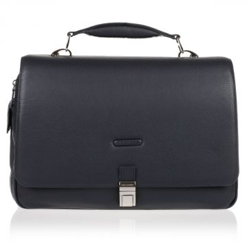 Expandable MODUS Leather PC Briefcase