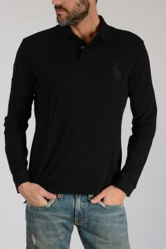 Piquè Long Sleeves Embroidered Polo