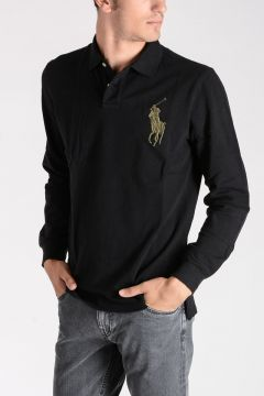 Long Sleeves Polo