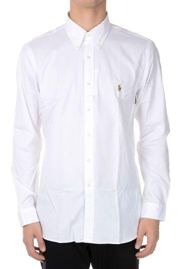 Camicia Button-down in Cotone