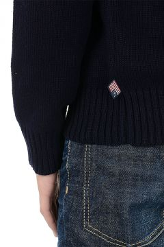 Round Neck USA flag Sweater