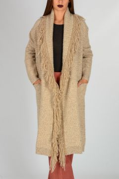 Cashmere Wool Knitted Coat