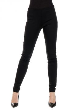 Skinny Mixed Cotton Trousers