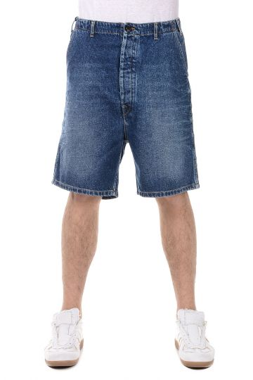 Jeans Bermuda in Cotone