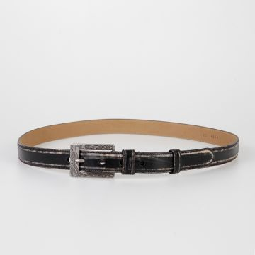 25 mm OLD SHOW Leather Belt